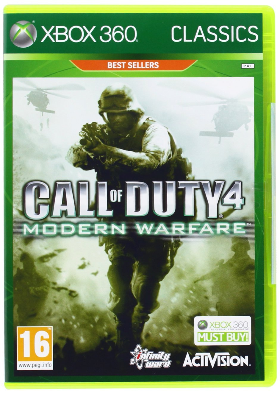 Call of Duty: Modern Warfare 4  [Xbox 360]