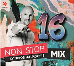 Non Stop Mix 16 By Nikos Halkousis [CD]