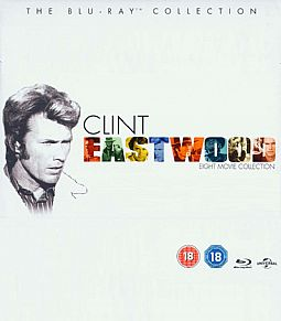 Clint Eastwood - The Blu-ray Collection [Box-set 8 movies]