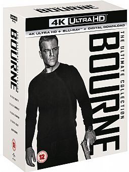 Bourne The Ultimate Collection [4K + Blu-ray] [Box-set]