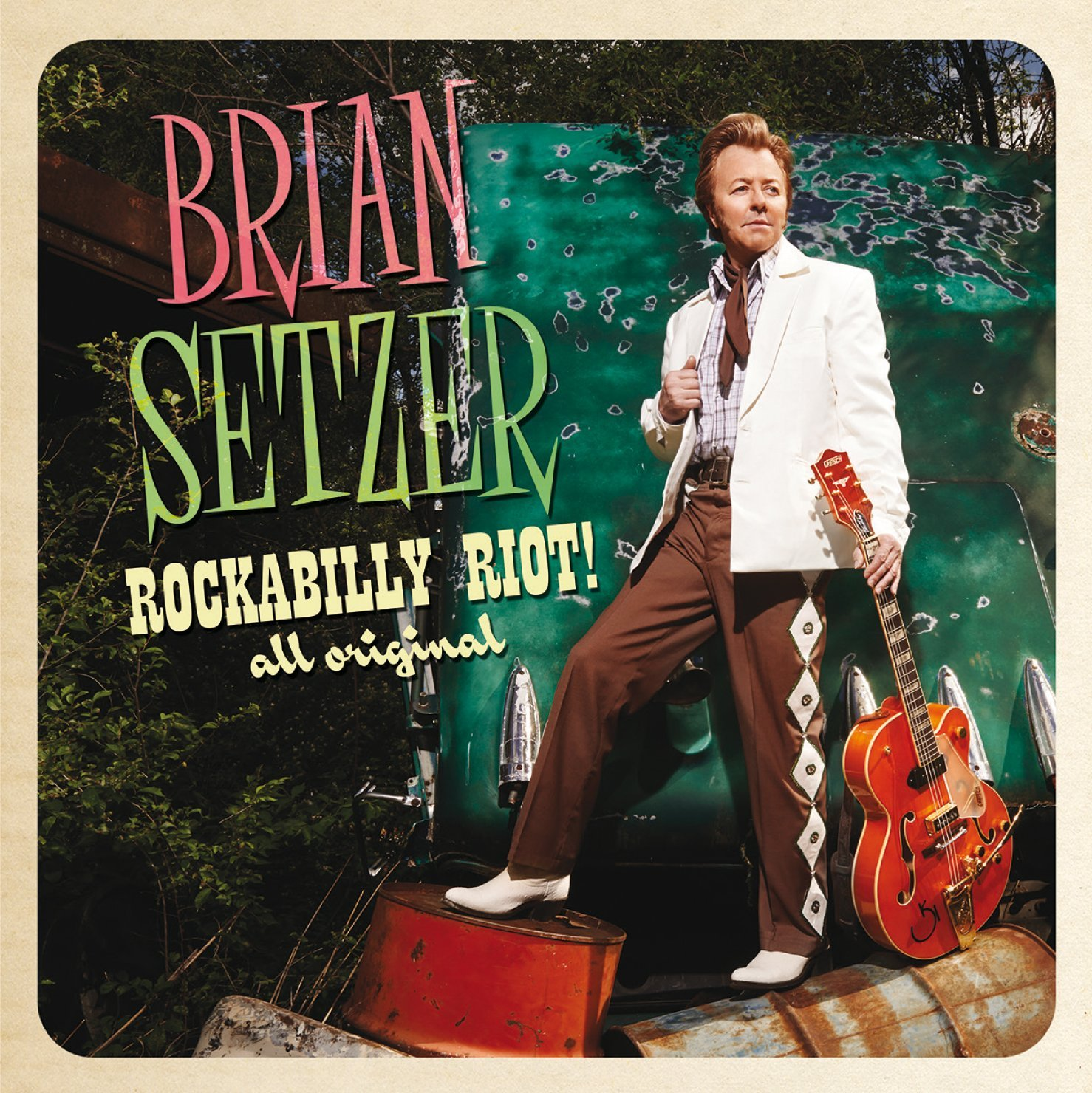 Brian Setzer: Rockabilly Riot! All Original
