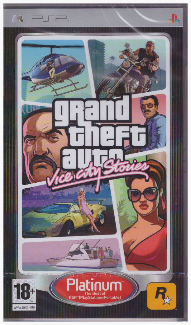 Grand Theft Auto: Vice City Stories [PSP]