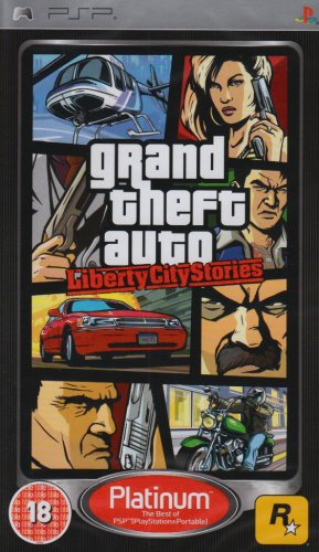 Grand Theft Auto: Liberty City Stories - Platinum Edition [PSP]