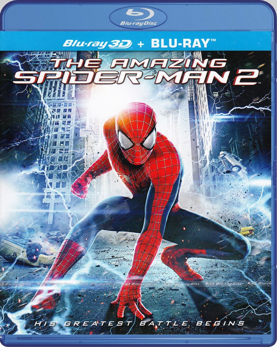 The Amazing Spider-Man 2 [Blu-ray 3D]+[Blu-ray]