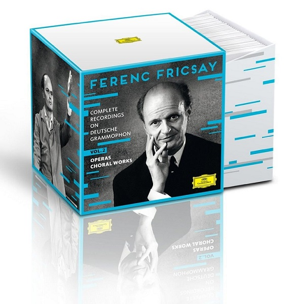 Ferenc Fricsay: Complete Recordings on Deutsche Grammophon, Vol. 2, Operas, Choral Works [Limited Edition, Box set]