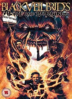 Black Veil Brides Alive and Burning [DVD] [2015]