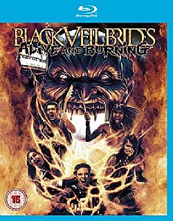 Black Veil Brides Alive and Burning [Blu-ray] [2015]