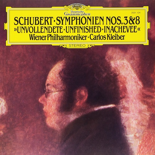 Schubert: Symphonies Nos 3 & 8 Unfinished [VINYL]