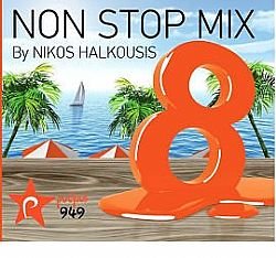 Non Stop Mix 8 By Nikos Halkousis [CD]