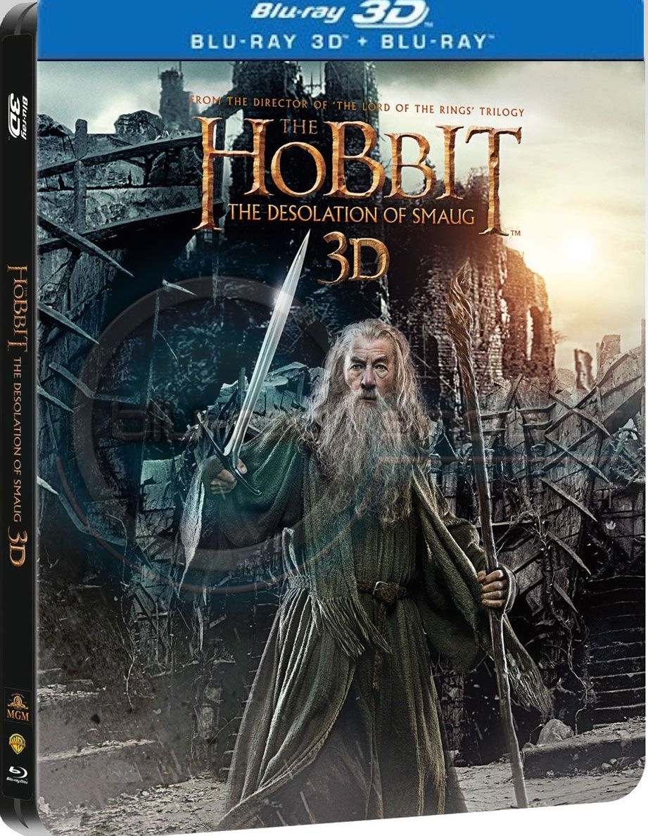 The HobbiThe Desolation Of Smaug [3D + Blu-ray] [Steelbook]