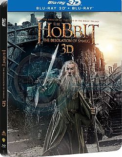 The Hobbit: The Desolation of Smaug [3D + Blu-ray] [Steelbook] [3D + Blu-ray] [Steelbook]