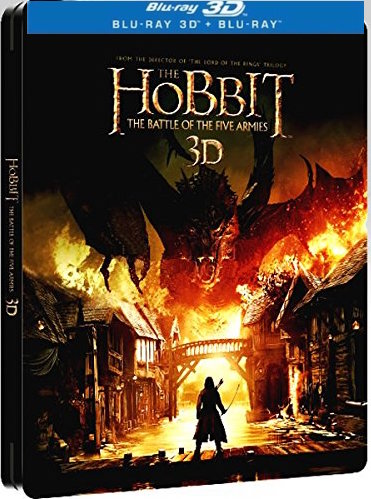 The Hobbit: The Battle Of The Five Armies [3D + Blu-ray] [Steelbook]
