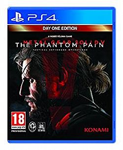 Metal Gear Solid V The Phantom Pain [PS4] Μεταχειρισμενο
