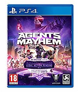 Agents of Mayhem: Day One Edition [PS4] Μεταχειρισμενο