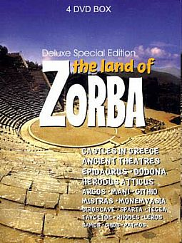 The land of Zorba Best of Greek Ancient Places [4DVD]