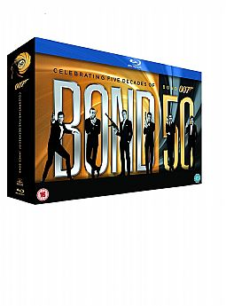 James Bond 007 - 22 Film Collection [Blu-ray] [Box-set]  [Blu-ray]