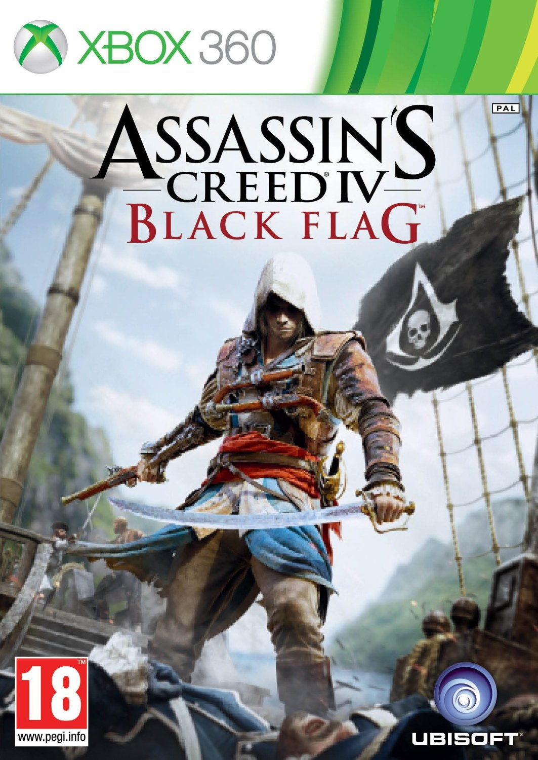 Assassin's Creed IV: Black Flag - [Xbox 360]