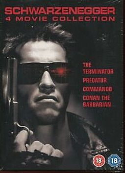 Arnold Schwarzenegger - Terminator/ Commando / Predator / Conan the Barbarian [DVD] [Box-set]